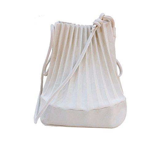 Ideale Bianco Tracolla Tela Giorno Valentoria Le Il Di Donne Per Estate A Giallo Shopping Lo Borsa Fpaxqv