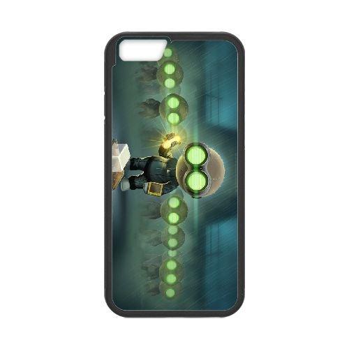 Stealth Inc. 2 A Game Of Clones 4 coque iPhone 6 Plus 5.5 Inch cellulaire cas coque de téléphone cas téléphone cellulaire noir couvercle EEECBCAAN01305