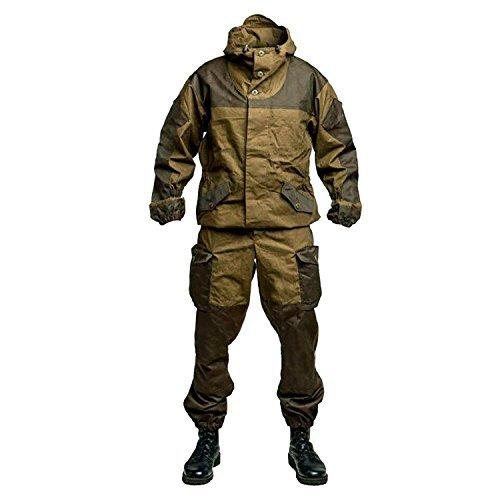 Bdu Army Uniform (Bars GORKA-3 Gorka 3 Genuine Russian Army Special Military BDU Uniform Camo Hunting Suit (L (54/5) / 179-185 cm))