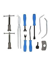 ABN Set de herramientas de freno con 18 piezas Kit de herramientas de freno de disco y 8 piezas Kit de herramientas de freno de tambor   Herramientas de extracción e instalación