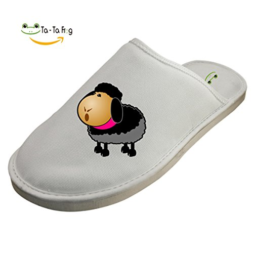 572e78464d4b Black Sheep Cotton Slippers Winter Warm Men Women Comfort Indoor Slippers  new