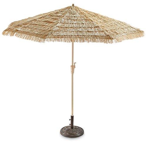 Castlecreek 9ft. Thatched Tiki Umbrella