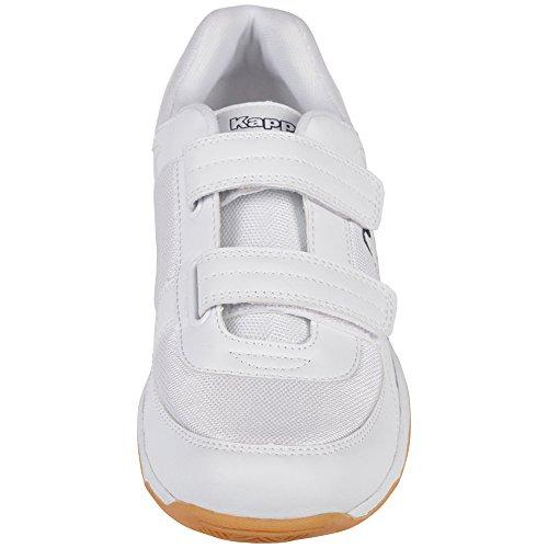Footwear Blue Mesh Weiß Erwachsene Kappa Synthetic White Unisex Teens 1060 CABER Sneakers 5wPZqI7