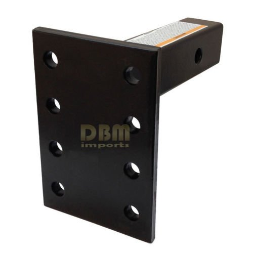 HD Adjustable Pintle Mount Plate 2