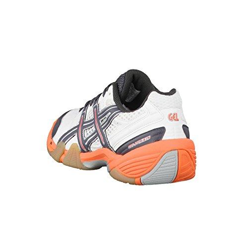 GEL Gris Chaussures Asics DOMAIN de Orange femme pour handball Blanc dT4afqxwp