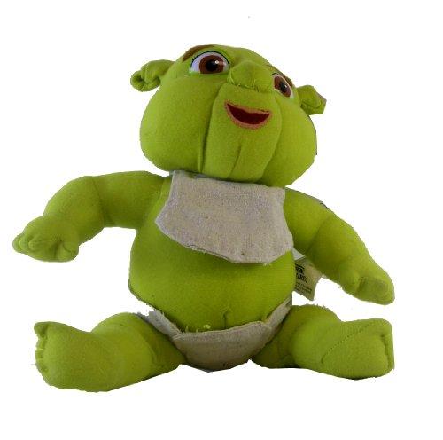 Disney Shrek Plush - Shrek Baby Plush w/ Bib