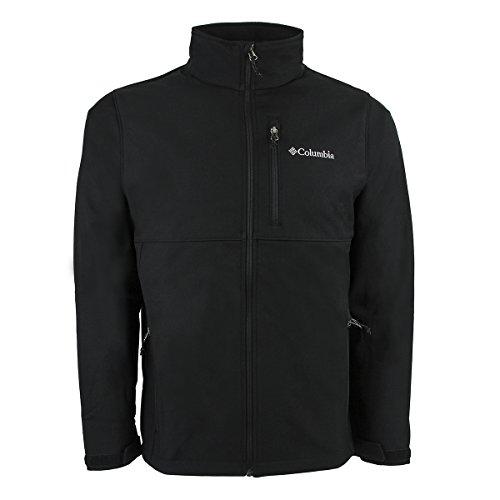 Columbia Men's Ascender Softshell Jacket, Black, X-Large