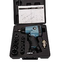 Ouya PIW-248 Blue 1/2-Inch Square Drive Air Impact Wrench Kit