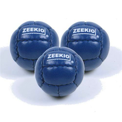 Zeekio Galaxy Juggling Ball Gift Set- 3 Galaxy Juggling Balls 130g 62mm (Dark Blue)