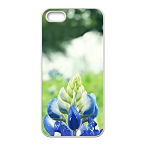 Glam Blue Flowers bloom personalized creative custom protective phone Samsung Note 4