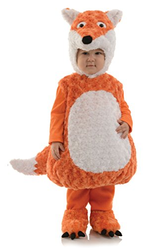 Underwraps Toddler's Fox Belly Babies Costume, Orange/White, Extra Large (4-6)