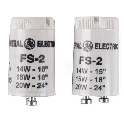 Fs-2 Fluorescent Starters, 2 Pk