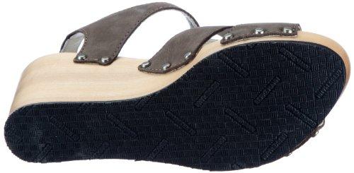 Berkemann Kathy 00240-910 - Sandalias de vestir de cuero nobuck para mujer Marrón