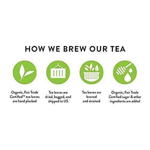Honest Tea Organic Fair Trade Half Tea & Half Lemonade Gluten Free, 16.9 Fl. Oz, 32 Pack (32 Pack) by Honest Tea (Image #3)