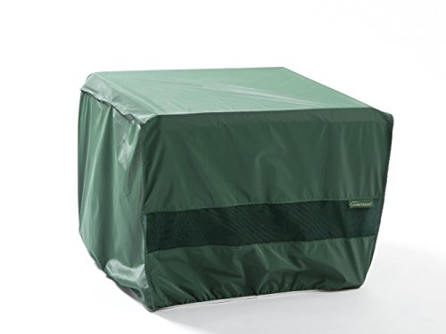 CoverMates – Square Firepit Cover – 30W x 30D x 18H – Classic Collection – 2 YR Warranty – Year Around Protection - Green