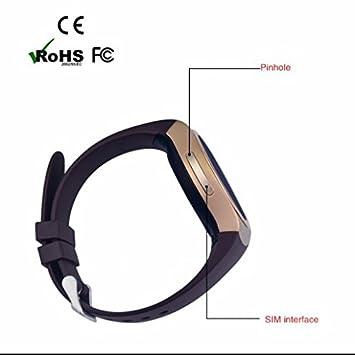 Best Reloj Inteligente, Smart Salud Reloj de pulsera teléfono con presión arterial Medidor de frecuencia