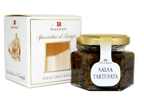 Black Truffle Saouce with Italian Premium Ingredients | 80g/2.8 oz by Aromataste