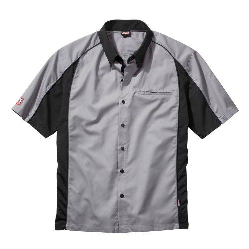 Talladega Racing Shirt - Simpson Racing 39012XG Talladega X-Large Grey Crew Shirt