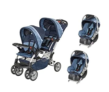 BABY TREND Sit N Stand Double Twin Travel System Vision