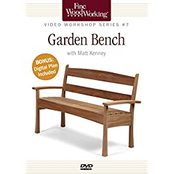 Fine Woodworking Video Workshop Series - Garden Bench