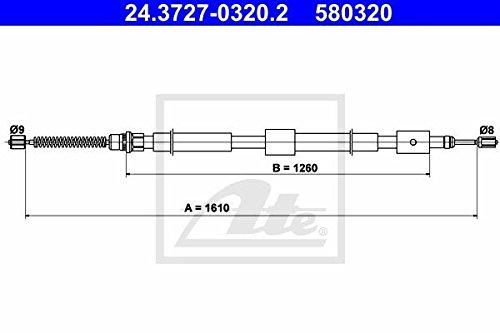 Ate 24.3727-0320.2 Sistemas de Servofreno Continental After Market