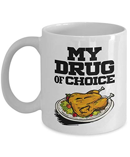 Rp Meals My Drug Of Choice Coffee Tea Gift Mug And Gifts For Men Women Who Love Southern Fried Cute Ladies Figure Is Ceramic Recipe Crazy Sign As Spicy Design Are Signs Girlfriend Girl Stickers Funny