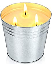 Ailego Citronella Candles 20 oz Scented Candle Natural Soy Wax Outdoor and Indoor