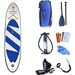 DIMPLEYA-Si-Adatta-A-Tutti-I-Giovani-Principianti-capacita-Ideale-Acqua-Gonfiabile-Stand-Up-Paddle-Boards-Blu-Senza-Formato-della-sede-320x76x15