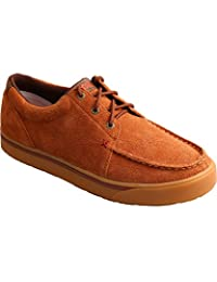 Twisted X Boots Mens Rough Out Casual Shoe