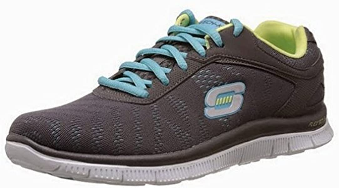 c6b7e21dcde5 Womens Skechers Flex Appeal - First Glance  Lightweight