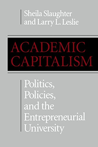 Academic Capitalism: Politics, Policies, and the Entrepreneurial University (American Land Classics) -