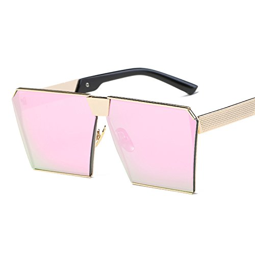 La De Mujer Gafas Gafas De Sol Gafas De marco JUNHONGZHANG Mercury Caja de Polvo Color De Blue Sol De Gold De Sol Frame dorado Gafas Moda xXCxwO6d