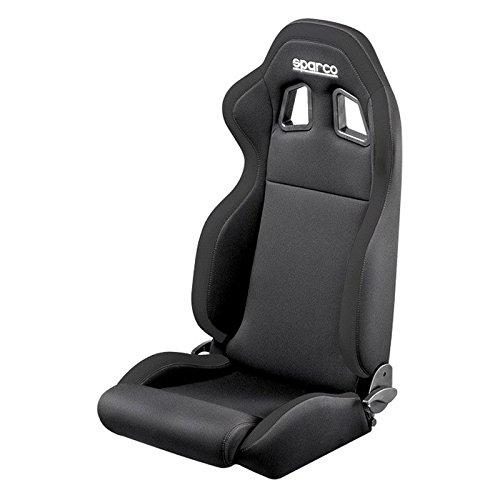 Sparco 00961NRNR Seat (R100 Black/Black)