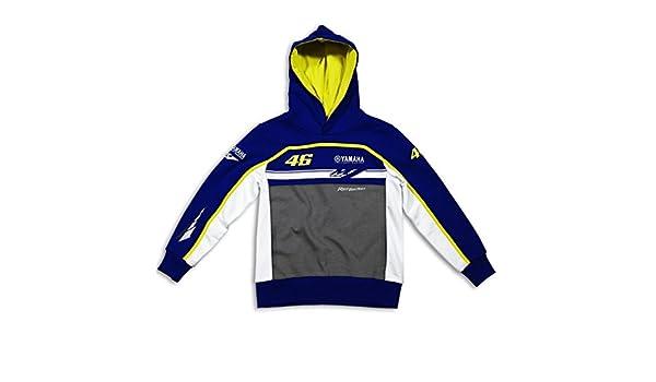 Valentino Rossi M1 Yamaha Moto GP Junior sudadera oficial de equipo nuevo: Amazon.es: Deportes y aire libre