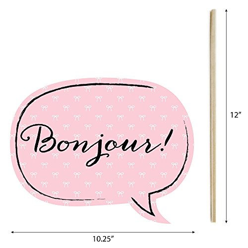 Big Dot Of Happiness Paris Ooh La La Paris Themed Photo Booth