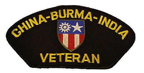 CHINA - BURMA - INDIA CBI VETERAN with CREST PATCH - Color - Veteran Owned (Cbi Patch)