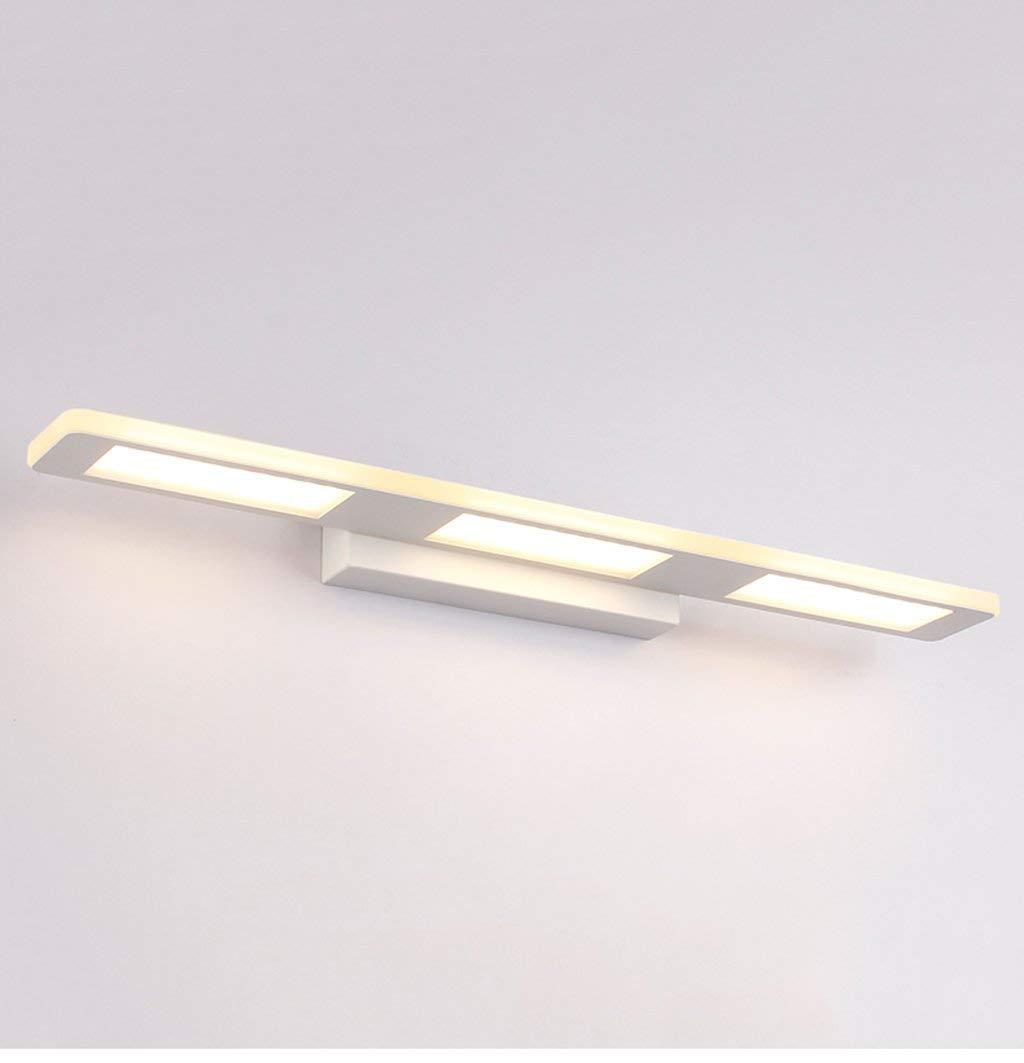 Square Warm Light-37cm 12w Badezimmerspiegel Beleuchtung LED - Beleuchtung, mit wasserdichten Bad Wand Lampen (Kalt Weiß, Warmweiß) (Farbe  Square warmes Licht-37cm 12W)