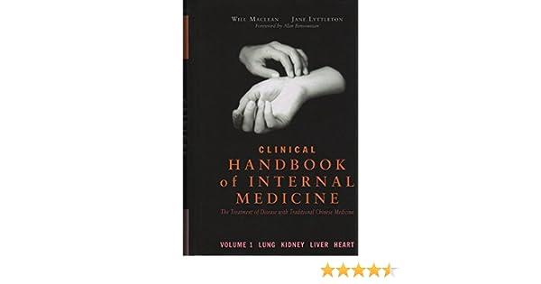 Clinical Handbook Of Internal Medicine The Treatment Of Disease