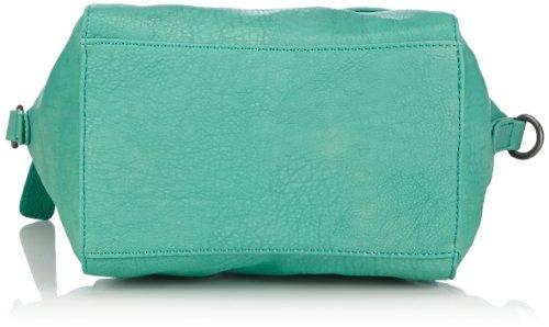Fritzi aus Preussen Tessa FaP SS2-14-20 - Bolso con asas para mujer, color verde, talla 35x34x13 cm Verde (Grün (Wasabi-Be 58))