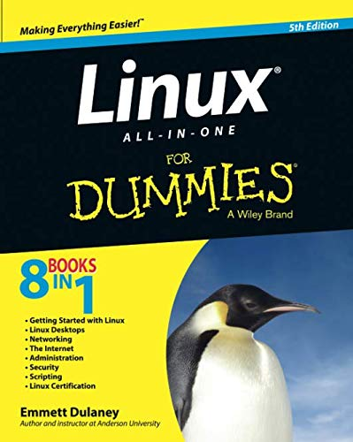 Linux All-in-One For Dummies, 5th Edition (Best Linux For Beginners 2019)