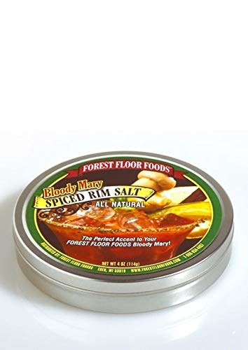 Forest Floor Foods Bloody Mary Spiced Rim Salt, 4 Ounce