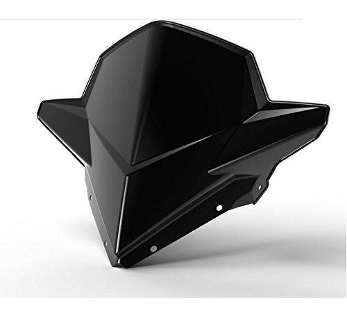 Genuine Pure Polaris Snowmobile AXYS Mid Windshield Black pt# 2880390