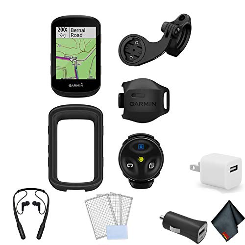 Garmin Edge 830 Cycling/Bike GPS Computer Bundle with Universal USB 2- Port Car Charger and More