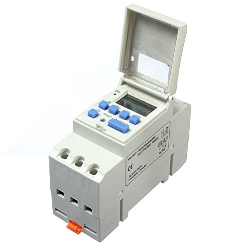 Calli THC15A 220-240V 16A DIN Rail Digital Programmable Timer Switch