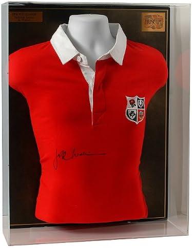 British Sports Museum JPR Williams Mano firmada británico Leones Camisa Retro. (LOT558): Amazon.es: Deportes y aire libre