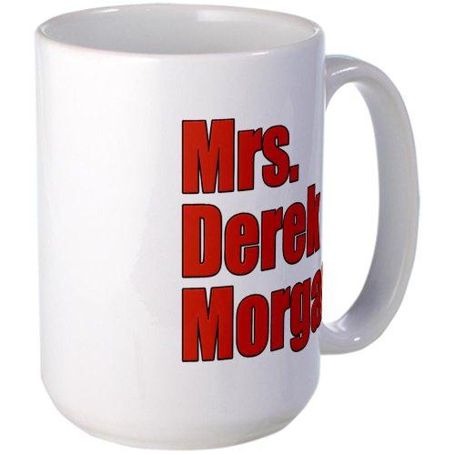 Mrs. Derek Morgan Criminal Minds Large Mug Large Mug by CafePress