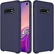 Idenmex Funda Case para Samsung S10e Protector Soft Jelly, Color Navy