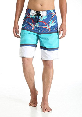 MILANKERR Men's Boardshort Beach Shorts Swim Trunks Casual Shorts