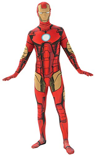Rubie's Men's Marvel 2nd Skin  LargeIron Man