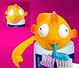 Spread Heads Toothpaste Cap Dispenser Bubbles Fish
